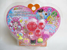 SMILE PRECURE PRETTY CURE DECO 6 CURE DECORS FOR SMILE PACT BANDAI JAPAN NEW