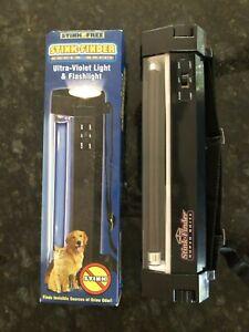Stink Free Finder To Spot Pet Urine Super Brite Fluorescent UV Lamp Flashlight