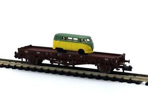 Wagon plat - Minitrix 15655-18 échelle N