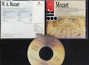 MOZART Concerto For Piano And Orchestra CD POINT CLASSICS ALBERTO LIZZIO