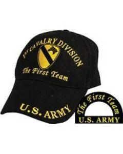 1st Cavalry Division U.S. Army Ballcap