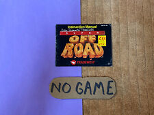 Super Off Road nes Manual Only