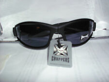 CHOPPERS SUNGLASSES BLACK SOFT STYLE SUNGLASSES NEW (CH11)