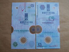 NORTHERN  BANK  £5  NOTE  POLMER,1999 ,PREFIX  MM , UNCIRCULATED