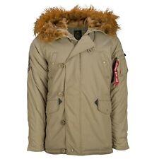 Alpha Industries-XXL, N-3B(N) Khaki Explorer Parka Jacket,Extreme Weather,BNWT