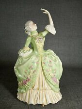 Franklin Mint Porcelain Figure Sophia - The Allemande c1982