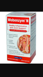 Garden of Life Wobenzym N Joint Health 200 Tablets Best Price/Free Ship