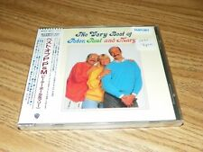 THE VERY BEST OF PETER- PAUL AND MARY- CD JAPAN-WPCP-3877-SEALED-NEW-LAST ONE