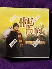 Harry Potter & The Sorcerers Stone Movie Trading Cards Sealed Box 36/7 Packs ~92