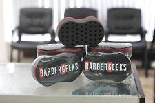 BARBERGEEKS HAIR TWIST SPONGE  barber foam unisex salon black and red