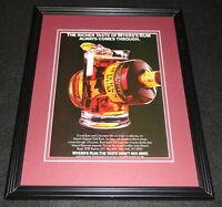 1986 Myers's Rum 11x14 Framed ORIGINAL Vintage Advertisement