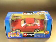 [PL3-41] BBURAGO BURAGO 1/43 STREET FIRE #4178 PORSCHE 911 CARRERA '97 ROSSO RED