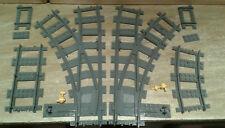 LEGO® City Eisenbahn flexibles Weichenpaar links-rechts 6023874997996 bricktrain