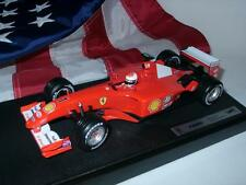 Hot Wheels 1/18 F1 2001 Ferrari Michael Schumacher Race Ed. + Marlboro Decals