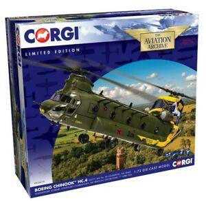 New Release Corgi AA34216 1:72 Scale Boeing Chinook HC.4 Model.
