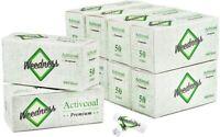 Weedness Aktivkohlefilter Activ Tips Slim 7 mm Filter Tips Zigaretten Nikotin