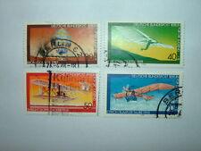 1978 WEST BERLIN YOUTH WELFARE AVIATION HISTORY SET x 4 VFU (sgB547/50) CV £4.75