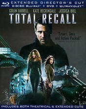 Total Recall (Blu-ray/DVD, 2012, Includes Digital Copy) - NEW!!