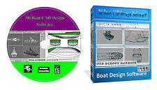 3D Boat Ship Hull Yacht Build Building Designing Software Ship Maker PC CD