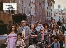 NINO MANFREDI BRUTTI, SPORCHI E CATTIVI 1976  VINTAGE PHOTO LOBBY CARD N°6