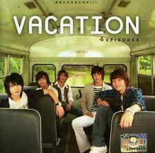 Sealed Tvxq Dong Bang Shin Vacation Original Soundtrack 4 Episodes CD