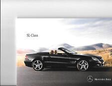 MERCEDES BENZ SL CLASS -SL300 SL350 SL500 600 & SL63AMG SALES BROCHURE JUNE 2011