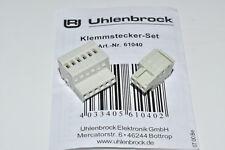 Uhlenbrock 61040 Steckerset für Intellibox sowie Booster (alt) NEU OVP Stecker