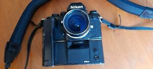 Nikon F3 With Drive And 28mm 3.5 Nikkor
