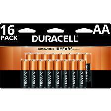 Duracell AA Alkaline Batteries, Pack of 16