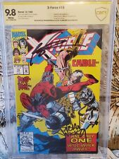 X-Force #15 CBCS (like CGC) 9.8 SS signed 2x by Rob Liefeld and Fabian Nicieza