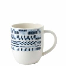 Royal Doulton Ellen Degeneres Dark Blue Chevron Mug 0.40L