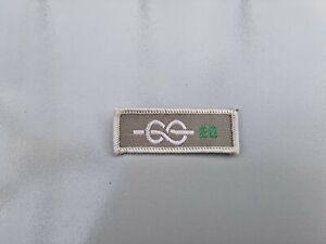 UK Scout Leader 20 Year service Uniform Badge