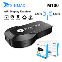 Anycast M100 2.4G/5G Miracast 1080P WiFi Display Receiver TV Stick DLNA Receiver