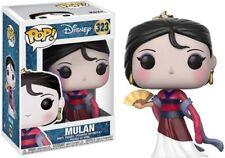 Funko pop cultura Disney princesa Mulan 323 Vinyl figura