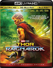Thor: Ragnarok (4K Blu-ray + Blu-ray 3D + Blu-ray) (All Region) (NEW) (2017)