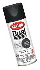 Krylon K08831001 Dual Superbond Primer Spray Paint, 12 Ounce Aerosol, Flat Bl...