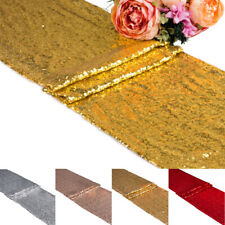 1/5pcs Sequin Table Runner Table Cover Wedding Party Banquet Decor Rectangle