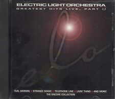 Electric Light Orchestra~~RARE~~CD~~GREATEST HITS LIVE, PART II~~NEW SEALED!