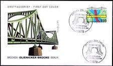 BRD 1998: Glienicker Brücke! FDC der Nr. 1967 mit Berliner Sonderstempeln! 1712