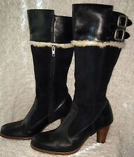 UGG RAYA BLACK BOOTS WOMENS SIZE 11 SERIAL NUMBER 5598