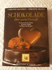 Wunderschönes Riesen-Buch über Schokolade -Der zarte Genuß- Rezepte Süßigkeiten