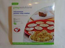 Microwave Potato Chip Maker Tray Slicer hand Guard Progressive PrepSolutions