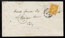 TORONTO, ONT., #35a 1c, 1878 IMMIGRATION DROP LETTER