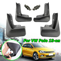 4Pcs Mud Flaps For VW Polo AW 6 MK6 2019 2020 Splash Guards Mudguards Front Rear