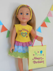 18 inch Design a Friend doll clothes. Birthday Outfit. Handmade