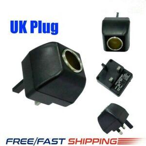 Cigarette Lighter Socket 240V Mains Plug to 12V Car Charger Power Adapters New