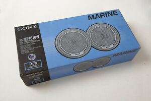 Sony Marine Stereo Speakers (M4L) Never Installed NOS New in Box XS-MP1610W Boat