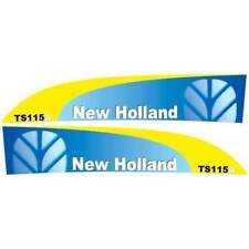 New Holland TS115A tractor decal aufkleber adesivo sticker set
