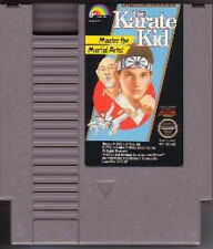 KARATE KID THE CLASSIC ORIGINAL NINTENDO GAME RARE NES HQ