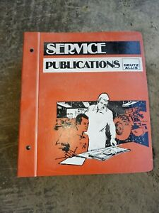 Deutz Allis Gleaner R60 R70 Combine Service Shop Repair Workshop Manual Original